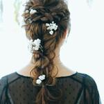 冬 セミロング ナチュラル モテ髪
