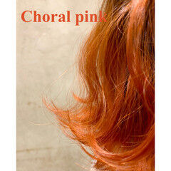 ピンク レッド ボブ ストリート ヘアスタイルや髪型の写真・画像