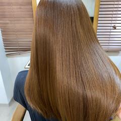 サイエンスアクア 美髪 ロング ナチュラル ヘアスタイルや髪型の写真・画像