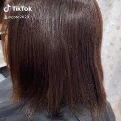 髪質改善トリートメント 髪質改善 ショートヘア ボブ ヘアスタイルや髪型の写真・画像