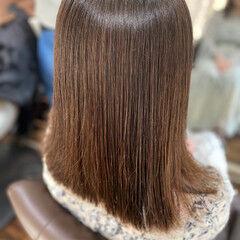 ガーリー 髪質改善トリートメント 大人ロング ミディアム ヘアスタイルや髪型の写真・画像