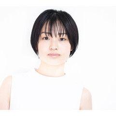 ショートヘア ナチュラル 撮影 サロモ ヘアスタイルや髪型の写真・画像