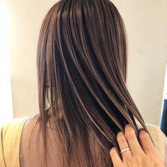 大人ハイライト 3Dハイライト ナチュラル ハイライト ヘアスタイルや髪型の写真・画像