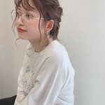 外国人風カラー オルチャン 簡単ヘアアレンジ 韓国ヘア