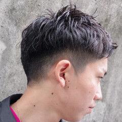 メンズヘア メンズカラー メンズカット メンズマッシュ ヘアスタイルや髪型の写真・画像