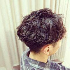 黒髪ショート ショート モード ツーブロック ヘアスタイルや髪型の写真・画像