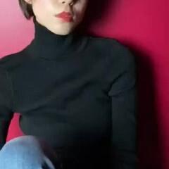 シースルーバング ショート グレージュ うざバング ヘアスタイルや髪型の写真・画像