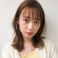 モテ髪 アンニュイほつれヘア ゆるふわパーマ ヘアアレンジ ヘアスタイルや髪型の写真・画像