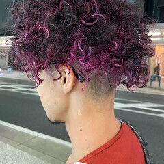 モード ハイライト ブリーチ 大人ハイライト ヘアスタイルや髪型の写真・画像