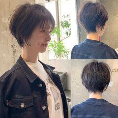 吉瀬美智子 ナチュラル ショートボブ 50代 ヘアスタイルや髪型の写真・画像
