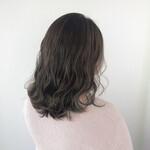 グラデーションカラー 髪質改善 髪質改善トリートメント ミディアム