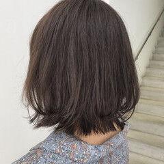 モテボブ ナチュラル 透明感 毛束感 ヘアスタイルや髪型の写真・画像