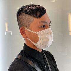 ショートヘア モード シースルーバング ボブウルフ ヘアスタイルや髪型の写真・画像
