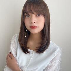 ナチュラルベージュ 大人可愛い 秋冬スタイル フェミニン ヘアスタイルや髪型の写真・画像