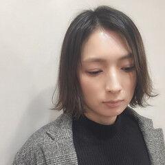 リラックス ハイライト おかっぱ 外国人風カラー ヘアスタイルや髪型の写真・画像