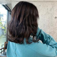 ターコイズブルー ショート アッシュグレー ラベンダーアッシュ ヘアスタイルや髪型の写真・画像