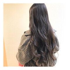 ナチュラル 大人ロング 透明感カラー ロング ヘアスタイルや髪型の写真・画像