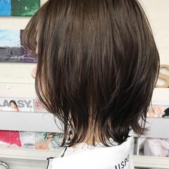 ボブ ウルフカット 無造作 ラフ ヘアスタイルや髪型の写真・画像