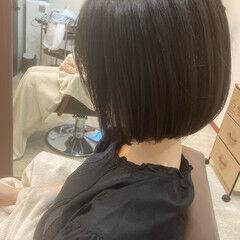 ふんわり ボブ ガーリー  ヘアスタイルや髪型の写真・画像
