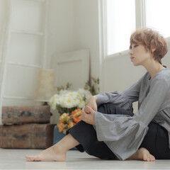 ガーリー マッシュ エレガント 大人女子 ヘアスタイルや髪型の写真・画像