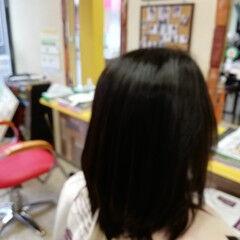 ナチュラル セミロング 縮毛矯正 メンズカット ヘアスタイルや髪型の写真・画像