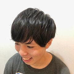 ショート メンズカット ツーブロック メンズマッシュ ヘアスタイルや髪型の写真・画像