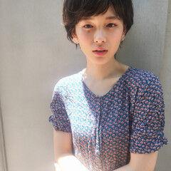 田中美保 ショート ナチュラル 新垣結衣 ヘアスタイルや髪型の写真・画像