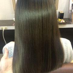 名古屋市守山区 トリートメント ナチュラル ロング ヘアスタイルや髪型の写真・画像