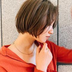ボブ グラボブ 阿藤俊也 ナチュラル ヘアスタイルや髪型の写真・画像