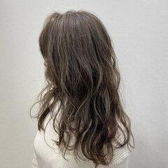ロング ストリート ハイライト トレンド ヘアスタイルや髪型の写真・画像