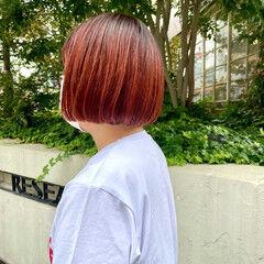 ミニボブ モード ショートボブ ボブ ヘアスタイルや髪型の写真・画像