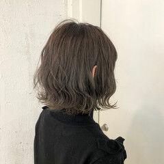 ウェーブ デート ヘアアレンジ ゆるふわ ヘアスタイルや髪型の写真・画像