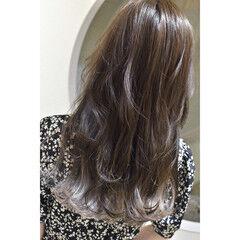ホワイト ロング ホワイトシルバー ホワイトグラデーション ヘアスタイルや髪型の写真・画像