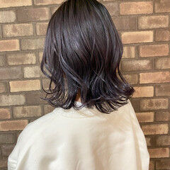 ヘアオイル 艶髪 透明感 ミディアム ヘアスタイルや髪型の写真・画像