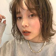 レイヤーボブ ミニボブ ハイトーンボブ インナーカラー ヘアスタイルや髪型の写真・画像