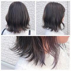 ストリート こなれ感 外国人風 ハイライト ヘアスタイルや髪型の写真・画像