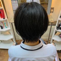 ショートヘア 夏 ヘアワックス 爽やか ヘアスタイルや髪型の写真・画像