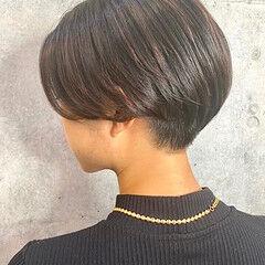 ショート ベリーショート ミニボブ 刈り上げ女子 ヘアスタイルや髪型の写真・画像