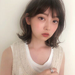 こなれボブ/ミディアムが得意 深田理紗さんが投稿したヘアスタイル