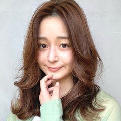韓国ヘア 韓国風ヘアー レイヤースタイル レイヤーロングヘア ヘアスタイルや髪型の写真・画像