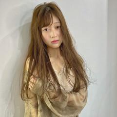 韓国ヘア ベージュ アッシュベージュ ミルクティーベージュ ヘアスタイルや髪型の写真・画像