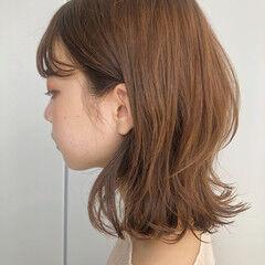 くびれボブ ボブ 簡単スタイリング ナチュラル ヘアスタイルや髪型の写真・画像