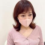 フェミニン くびれカール 韓国ヘア ピンク