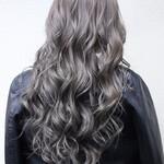 外国人風カラー ロング 透明感 暗髪
