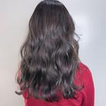 フェミニン 3Dハイライト 透明感カラー 髪質改善