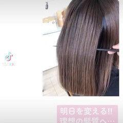 ホームケア 美髪 髪の病院 ロング ヘアスタイルや髪型の写真・画像