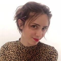 ヘアアレンジ セルフアレンジ モード ヘアピン ヘアスタイルや髪型の写真・画像