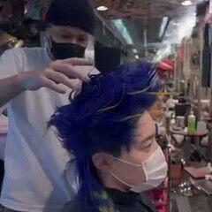 クリエイティブ 撮影依頼募集中 派手髪 撮影 ヘアスタイルや髪型の写真・画像