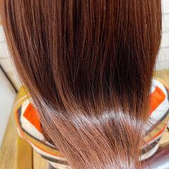 透明感カラー ヘアカラー 韓国風ヘアー 髪質改善 ヘアスタイルや髪型の写真・画像