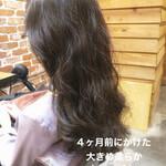 アンニュイほつれヘア ゆるふわパーマ パーマ デジタルパーマ
